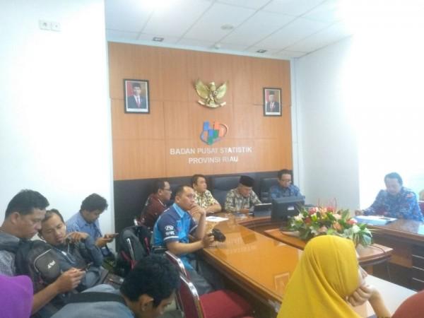Oktober 2019, NTP Riau Naik 0,06 Persen