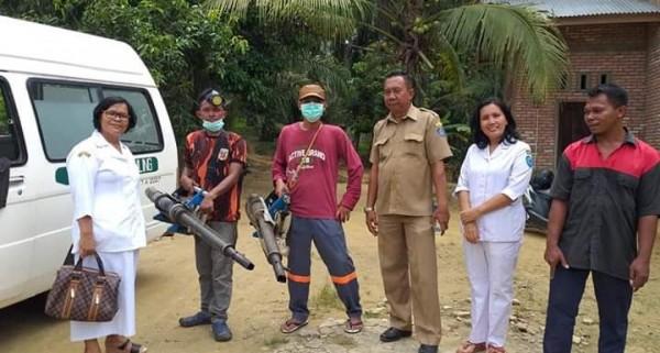 Cegah DBD Dinkes Labuhanbatu Pogung Dusun Sidorukun