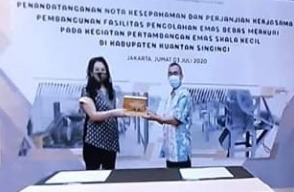Kerjasama Dengan Kementrian Lingkungan Hidup RI, Bupati Kuansing Bertolak Ke Jakarta