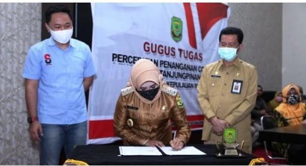 Pemko Tanjungpinang Jalin Kerja Sama Dengan OK OCE Indonesia