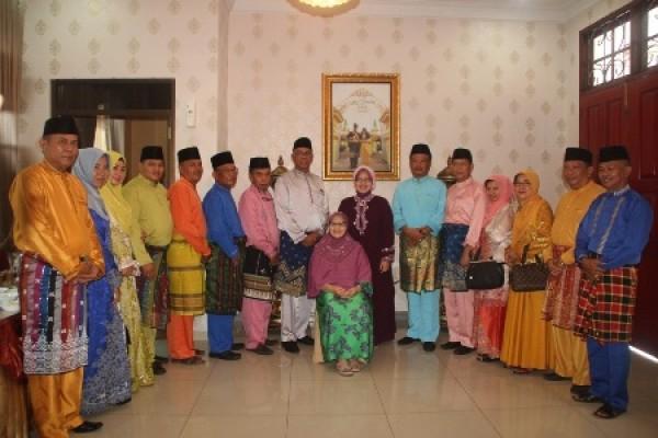 Pjs Bupati Inhil Rudyanto Taja Open House di Pekanbaru