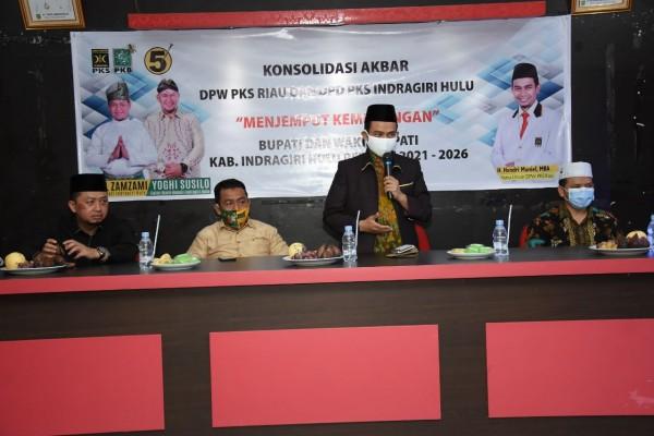 Estafet Keliling Daerah Pilkada PKS Riau : Pastikan Mesin Bergerak dan Solid