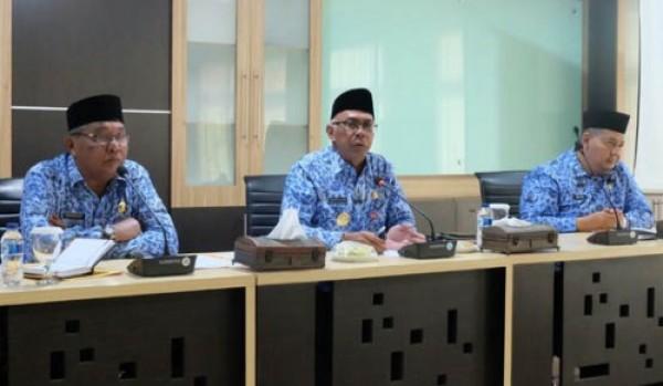 Pimpin Rakor OPD, Pjs Bupati Inhil Pastikan Kegiatan dan Pelayanan Publik Normal
