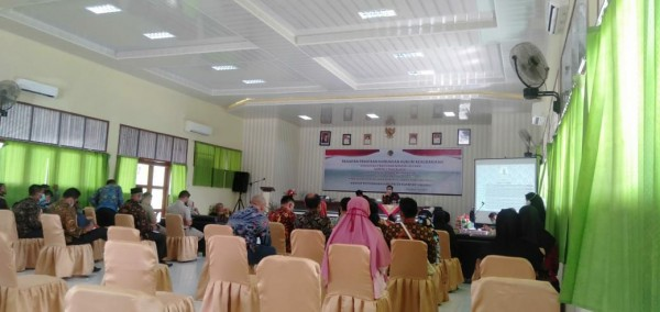 BPN Teluk Kuantan Gelar Sosialisasi Tentang Permen Nomor 2 Tahun 2018