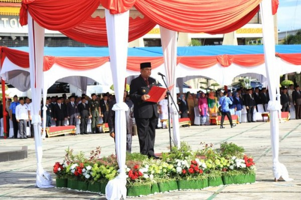 Wagubri Pimpin Upacara Harkitnas ke-111 Tahun 2019