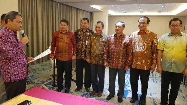 Terpilih Sekretaris Forsesdasi Riau, Sekda Inhil Siap Jalankan Amanah