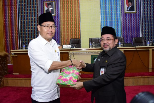 Rapat Paripurna DPRD Kabupaten Bengkalis Tentang Penyampaian Nota Keuangan dan Ranperda Perubahan APBD 2019 Oleh Bupati Bengkalis
