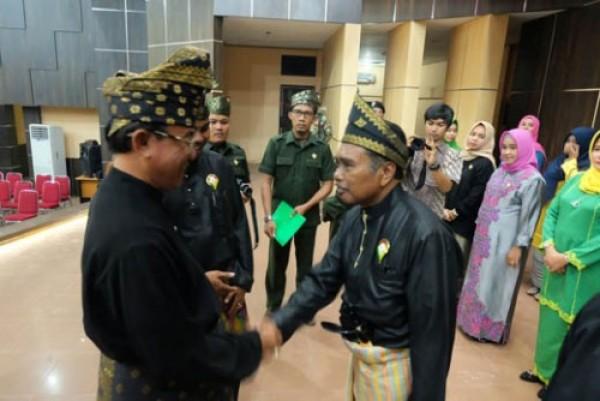 Hadiri Pelantikan DPD LMR, Bupati Inhil Berpesan Agar Selalu Menjaga Nilai dan Tradisi Melayu