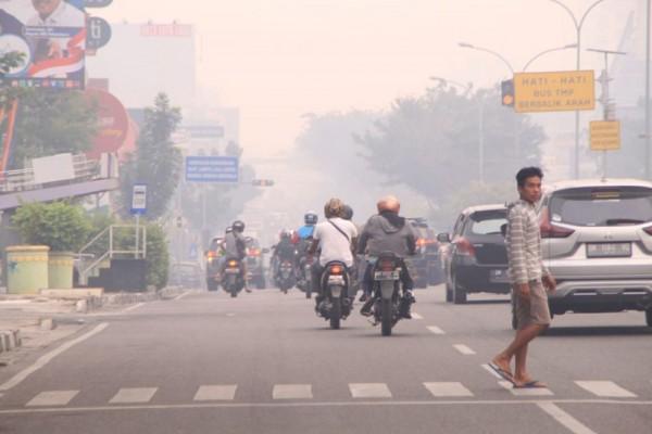 Kualitas Udara Tidak Sehat, Pemko Pekanbaru Perpanjang Libur Siswa SD dan SMP