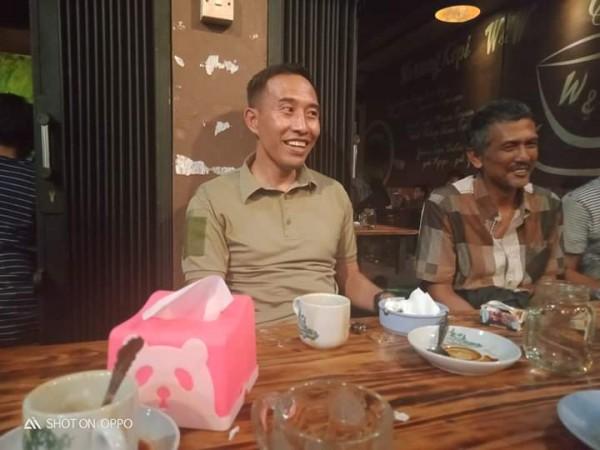 Letkol Inf I Gusti Bagus Putu Wijangsa menggelar Coffe bareng bersama Insan Pers