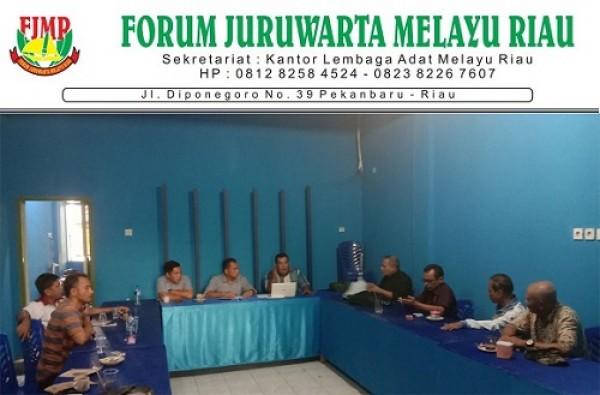 Elfis, S.Sos: Insha Allah Pengukuhan dan Pelantikan FJMR Se-Provinsi Riau November 2019