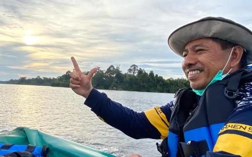 Alfedri Komit Wujudkan Kabupaten Siak Hijau