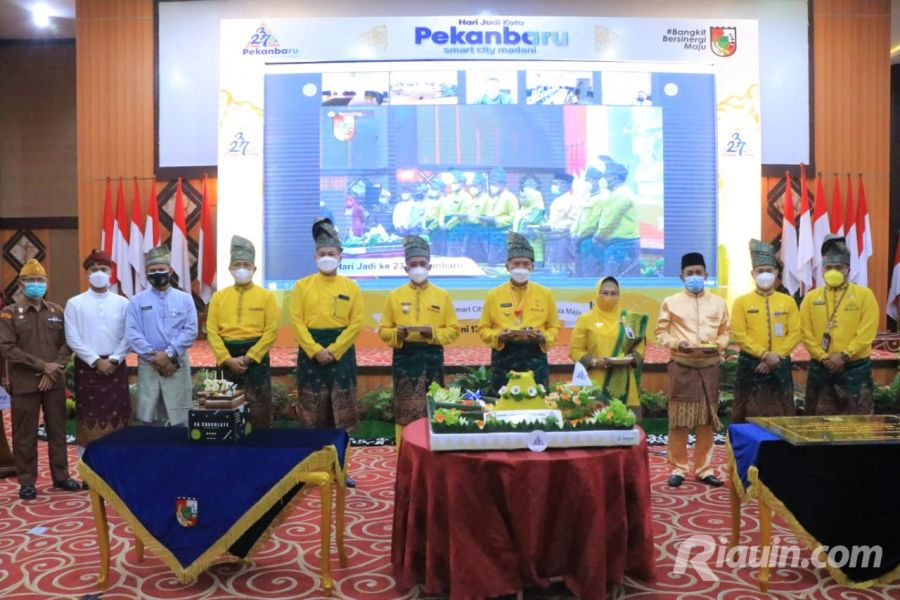 Berlangsung Virtual, Walikota : Pelaku Pembangunan Daerah adalah Masyarakat