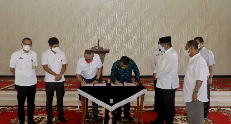 Bupati Siak Apresiasi Kerja Sama PT SS dengan PT SBSU