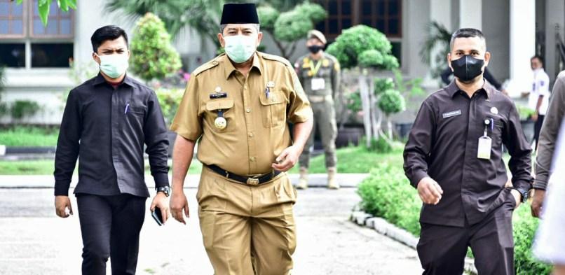 Bupati Siak Hadiri Pertemuan Presiden Joko Widodo Bersama Kepala Daerah se-Provinsi Riau