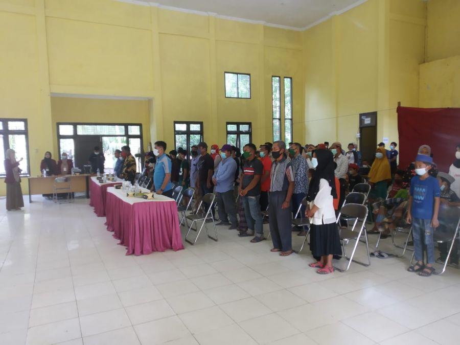 Camat Bandar Seikijang Hadiri Pelaksanaan bakti Sosial Sunat Massal Karang Taruna