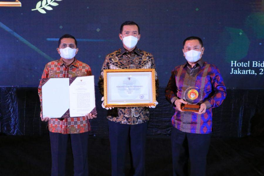 Pemko Pekanbaru Raih Penghargaan Meritrokasi dari KASN