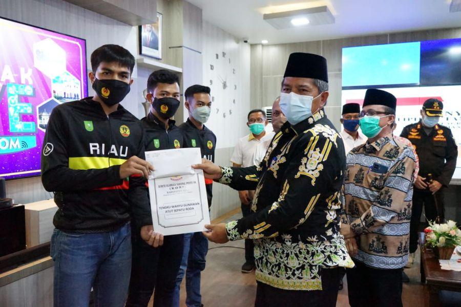 Perkuat Kontingen Riau,13 Atelit Kabupaten Siak Siap Berjuang di PON XX Papua