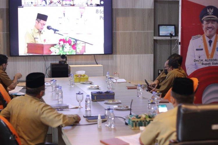 Pj Sekdaporv Riau Apresiasi Alfedri Komitmen Bupati Siak Tangani Stunting