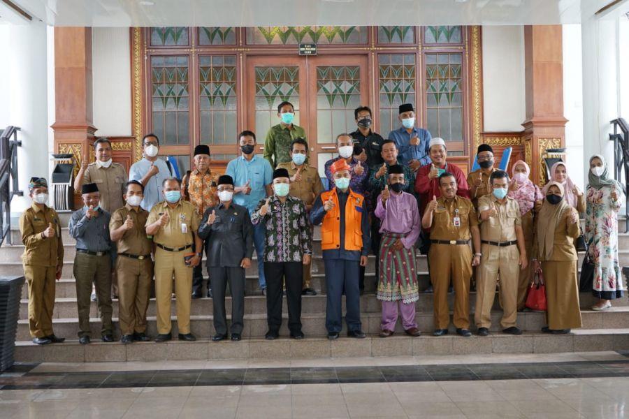 Usulkan Marhum Pekan Pahlawan Nasional, TP2GD Kota Pekanbaru Belajar ke Siak