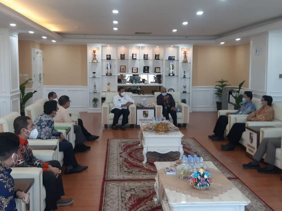 Wali Kota dan BI Bahas ETPD dan Ekonomi Berbasis Syariah