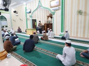 AKBP Taufik Lukman Nurhidayat SIK MH, Mengajak Para Jamaah Untuk Menerapkan Pola Hidup Bersih