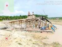 Jajaran Polres Kuansing tetap semangat menghadapi kondisi minimnya kesadaran hukum para pekerja Dompeng Peti Emas