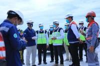 Walikota Firdaus Tinjau Progres Pelaksanaan Pembangunan Jalan Tol Pekanbaru - Padang
