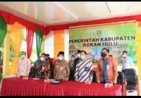 Wakil Gubernur Riau Kukuhkan TPAKD 11 Kabupaten Kota Di Riau secara Virtual