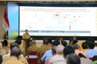 Gubri Tetapkan Riau Siaga Darurat COVID-19