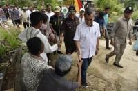 Bupati HM.Wardan Dampingi Gubernur Riau Syamsuar Tinjau Ruas Jalan dan Fasilitas Infrastruktur di Kecamatan Reteh-Inhil