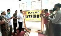 Kunjungi Hulu Kuantan, Ketua DPRD Kuansing Resmikan Masjid Az Zikra