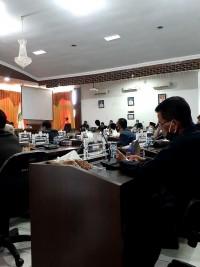 Bupati Dan DPRD Kuansing Sidang Paripurna, Dengan Agenda LKPj Tahun 2019