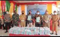 Pjs Bupati Rohul Serahkan 3.060 Sertifikat Lahan Masyarakat Secara Simbolis