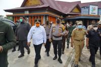 Dalam Kunjungan Wakil Gubernur, Kapolda Riau, Kepolisian Tetap Menjamin Situasi Kondusif Dan Aman