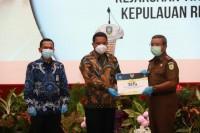 Pjs Gubernur Kepulauan Riau Hadiri Penyerahan DIPA K/L dan Daftar Alokasi TKDD Provinsi