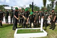 Menyambut Hari Juang TNI-AD, Korem 033/WP Melaksanakan Kegiatan Ziarah Nasional