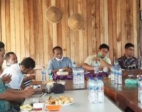 Ketua DPRD Kuansing Andi Putra SH MH Bersilaturrahmi dengan Para Pemuda dan Mudi Kecamatan Kuantan Mudik