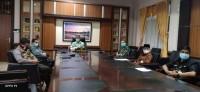 Gubernur Riau Bersama Bupati Kuansing Menetapkan Beberapa Wilayah PSBB Di Riau
