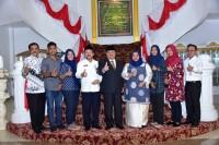 Bupati Bengkalis Terima Kunjungan Perwakilan DPD Gerkatin Provinsi Riau