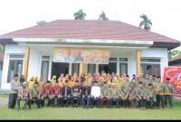 Pjs. Bupati Rohul, Drs H. Masrul Kasmy M.Si Saksikan Langsung Pengukuhan Pengurus DPC-FKDT