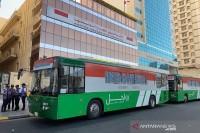 Bus Shalawat, Gratis Antar Jamaah Shalat 5 Waktu ke Masjidil Haram