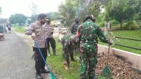 TNI-Polri Gelar Kegiatan Gotong Royong
