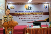 Wakapolda Riau Buka Pelatihan Transformasi Aplikasi Dashboard Lancang Kuning Bagi Sebelas Polda Rawan Karhutla