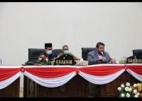 DPRD Rohul Gelar Rapat, Membahas Ranperda dan Propemperda Untuk Tahun 2021