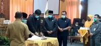 Sidang Paripurna Penyampaian Pendapat Akhir Terhadap Ranperda LPJ Tahun Anggaran 2019 Dipimpin Langsung Oleh Ketua DPRD Kuansing