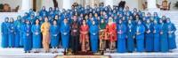 Puncak Rakornas PKK 2019, Ketua TP-PKK Inhil Ikuti Dialog Interaktif Bersama Presiden dan Ibu Negara