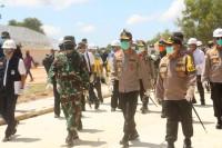 Bersama Kapolri Tinjau Pembangunan RS Covid-19 Di Pulau Galang, Panglima TNI: Progres Sudah 78 Persen