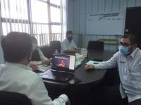 Dinas PMD, Kependudukan dan Catatan Sipil Provinsi Kepulauan Riau mengikuti Acara Webinar sinkronisasi Data