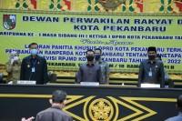DPRD Pekanbaru Gelar Rapat Paripurna RPJMD Kota Pekanbaru 2017/2020